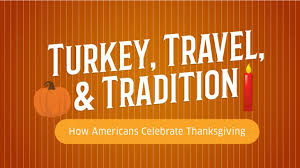 infographic how americans celebrate thanksgiving