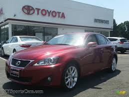 lexus awd is250 for sale 2012 lexus is 250 awd in matador red mica 058275 nysportscars