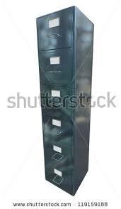 Grey Filing Cabinet Cabinet Folder File Binder Lamp Pile Stock Vector 557549182