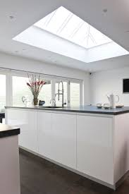 pure white light filled kitchen by mark taylor design skyy lights