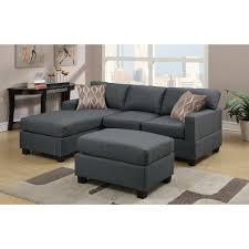 Jennifer Convertibles Chaise Living Room Modern Chaise Lounge Sectional Sofas Sofa With