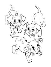 101 dalmatians coloring pages getcoloringpages com