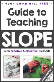 complete free guide to teaching slope of a line pdf download