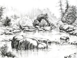 the 25 best pencil sketches of nature ideas on pinterest nature