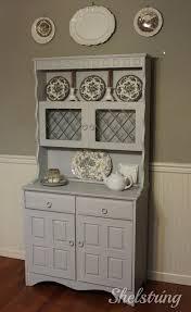 Hutch 3 Shelstring Blog Furniture Refresh Grey Hutch