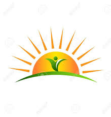 half sun with rays clipart 4 clipart station
