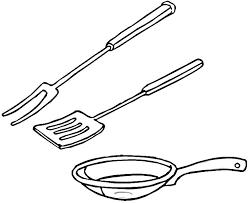 cuisine et ustensiles dessin d ustensiles de cuisine 8