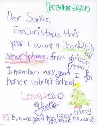 funny letters to santa claus