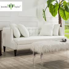 White Couch Living Room Compare Prices On White Sectional Furniture Online Shopping Buy