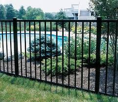 ornamental iron npr fence
