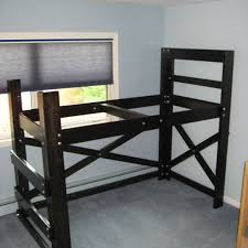 How To Build A Bunk Bed Frame Diy Loft Bed Plans Op Loftbed