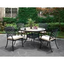 Tile Top Patio Table Tile Top Patio Dining Table Set