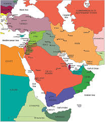 outline map middle east usa county world globe editable powerpoint maps for sales and