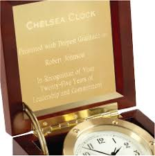 business gifts personalized business gifts chelsea clock