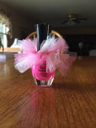 tutu baby shower theme nail baby shower favors pink tutu baby shower favors