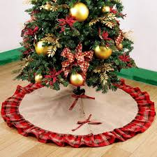 burlap tree skirt top 10 best christmas tree skirts on sale heavy