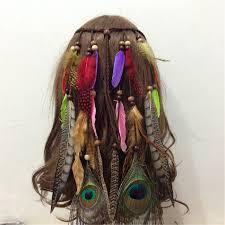 boho hair accessories online shop hair feathers headband for women girl 2017 fashion