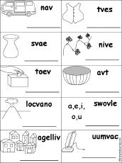 letter v alphabet activities at enchantedlearning