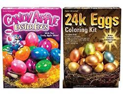 easter egg coloring kits easter egg bling dye bundle 24k candy apple kits