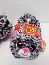 ty beanie boos girls slipper socks house shoes tasha small 11 13