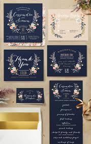 best 25 blue wedding invitation sets ideas on pinterest floral