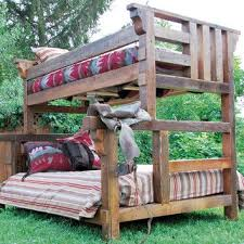 Timber Designs Riverwoods Twin Over Full Bunk Bed Home - Timber bunk bed