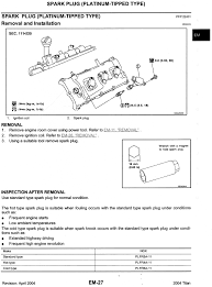 sparkplugs type torque gap u0026 how to nissan titan forum
