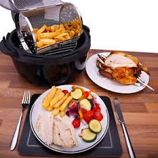 r ovation cuisine ovation low multifunction fast cook air fryer rotisserie oven