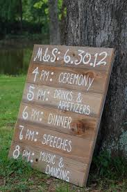 cost of wedding programs just make one sign and save on the cost of programs for the
