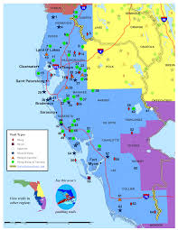 Land O Lakes Florida Map by Southwest Florida Land Trails