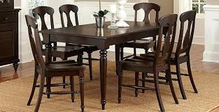 Dining Room Table And Chair Set Dining Room Table And Chairs Cheap Modern Black Wood Dining Room