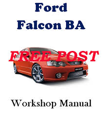 ford falcon ba 2002 2005 sedan ute xt to xr lpg workshop