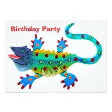 happy lizard invitations u0026 announcements zazzle