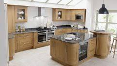 kitchen bars ideas breakfast bar lighting white gloos vertical cabinet beige ceramic
