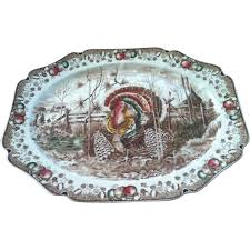 vintage johnson brothers his majesty turkey platter from wildmeems