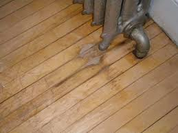 a spot of discoloration in wood floor the home depot community