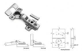 soft close kitchen cabinet door hinge 110 degree