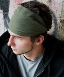 hair bands for men mens headband olive green hair band headscarves plus lavender