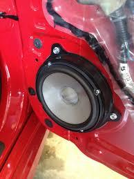 speaker size nissan versa forums