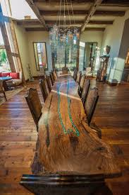 live edge table with turquoise inlay ben0730 turquoise inlay furniture pinterest tables woods and