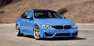 Bmw M3 Series - 2015 bmw m3 yas marina blue by morr wheels review gallery top