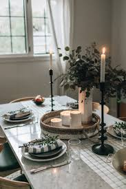 11 simple thanksgiving table decor ideas homey oh my