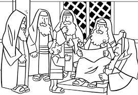 temple coloring page boy jesus in the temple catholic kids coloring pages pinterest