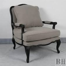French Linen Armchair Beautiful French Accent Chair With French Accent Chairs French