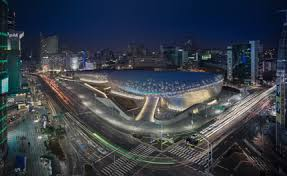 dongdaemun design park by zaha hadid architects is inaugurated in