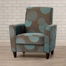 Turquoise Accent Chair Brown And Turquoise Patterned Accent Chair Home Design Lover
