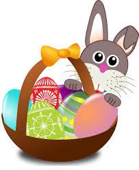 bunny easter basket bunny with easter basket easter basket