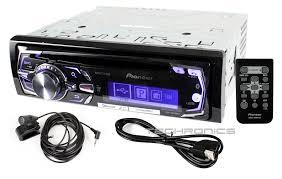 pioneer deh x8500bs 2yr wrnty in dash cd mp3 usb bluetooth car