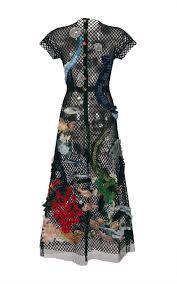 sea motif netted lace dress by dolce u0026 gabbana moda operandi