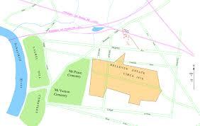 estate map file bellevue estate map 1870 jpg